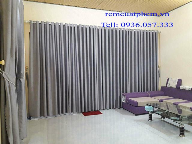 Rèm vải đường Hà Huy Giáp