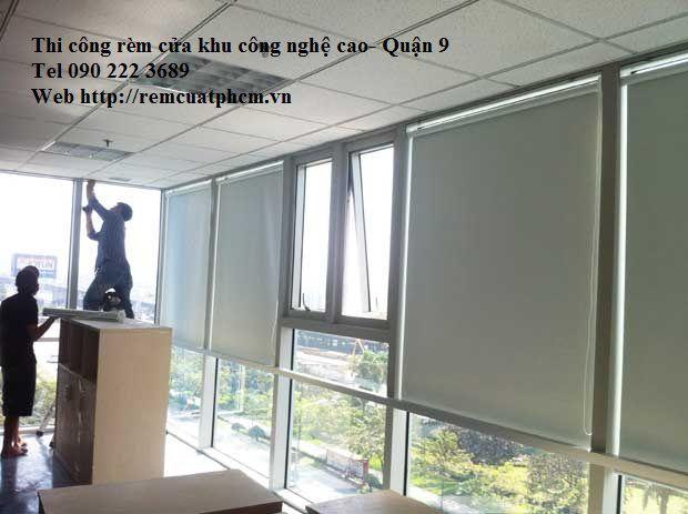 Rèm văn phòng khu công nghệ cao quận 9