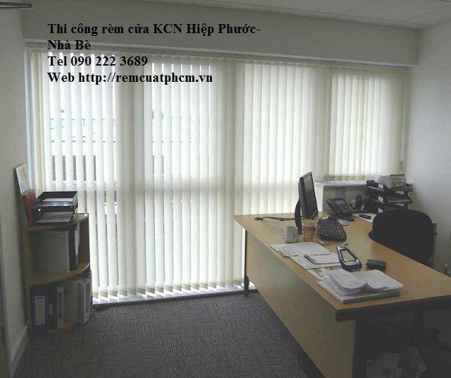 Rèm văn phòng KCN Hiệp phước - nhà bè