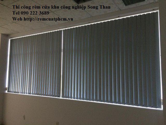 Rèm văn phòng KCN Sóng Thần